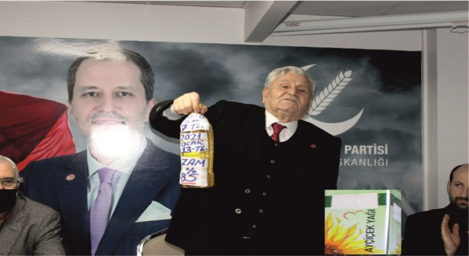 Photo of Yeniden Refah Partisi Kocaeli'nden yağlı tepki