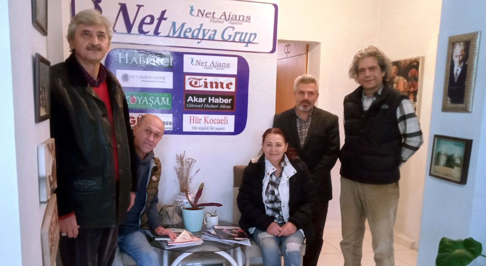 Photo of Halk Kürsüsü'nden Net Medya'ya ziyaret