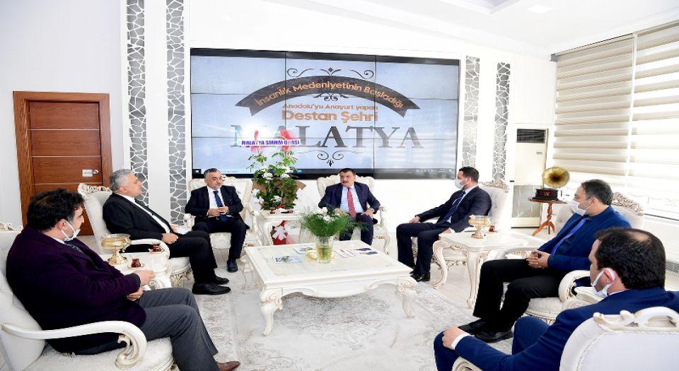 Photo of Malatya'da Muhasebeciler Odası'ndan Başkan Gürkan'a ziyaret