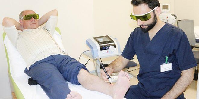 Hilterapi cihazı Kocaeli Devlet Hastanesinde hastaların hizmetinde