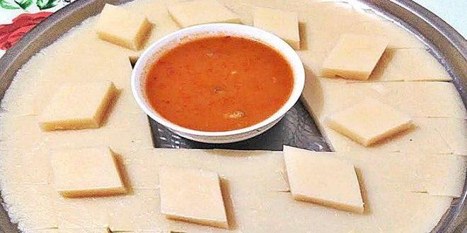 Arabaşı çorbasının hamurunun hazırlanması ve yapılışı