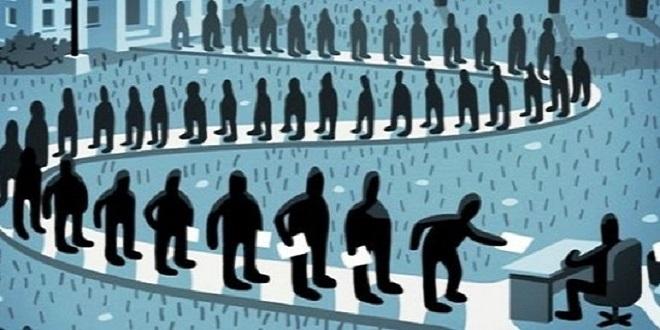 Ekonomi küçülürken işsiz sayısı 517 bin kişi arttı
