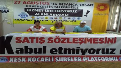 Photo of KESK: 27 Ağustos'ta eylem yapacağız