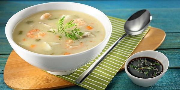 Balık Çorbası -(Mezgit - Çinekop - Dülger - Lirsos - Kırlangıç)