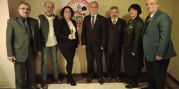 KOMECE'yi Federasyon Başkanı Yılmaz Karaca ziyaret etti