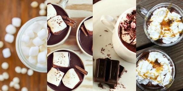 Evde yapabileceğimiz 5 sıcak çikolata tarifi