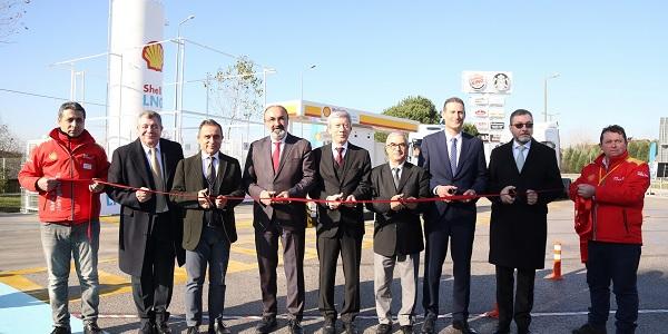 Shell & Turcas Türkiye'nin ilk LNG istasyonunu açtı