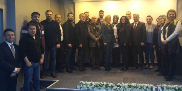 Belkıs Akbal İMO başkanlığına adaylığını ve projelerini açıkladı