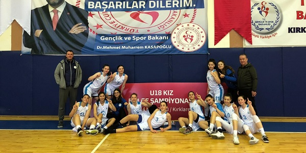 İzmit'in Kadın Basketbol takımı Kırklareli'de de fark yaratıyor