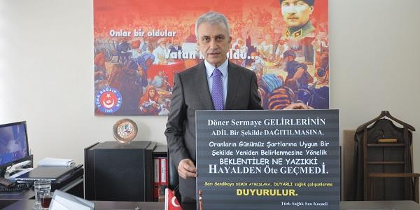 Photo of Çeker: 'Döner Sermaye düzenlemesi beklentileri karşılamadı'