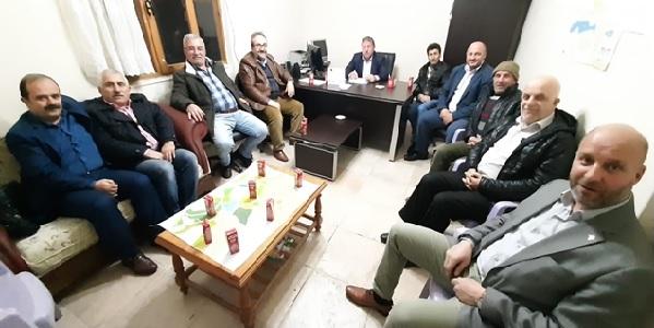 KARBAFED yönetimi olağan toplantısını Çamçukur köyünde yaptı