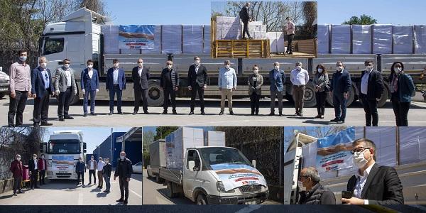CHP Kocaeli örgütü 5 Bin Aileye Erzak yardımı yaptı