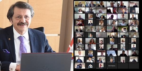 Photo of Hisarcıklıoğlu: 'Kocaeli Ticaret Odamla gurur duyuyorum'