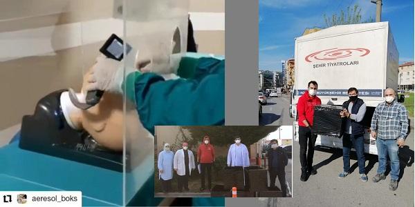 Photo of Sağlık çalışanlarına Kocaeli Şehir Tiyatroları personelinden anlamlı destek