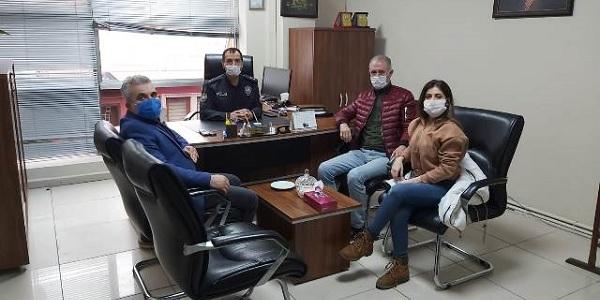 Photo of Saraybahçe karakoluna Şahin ve Keskin'den teşekkür ziyareti