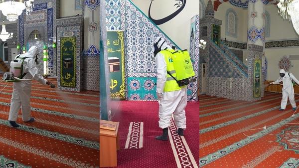 29 Mayıs Cuma günü İzmit'te tüm camiler ibadete hazır