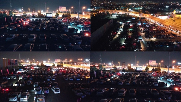 Büyükşehir'den Arabada Sinema etkinliğinde gişe rekoru