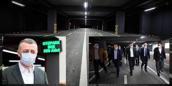 Photo of Büyükakın: 'Gebze Kapalı otopark bayram sonuna kadar ücretsiz olacak'