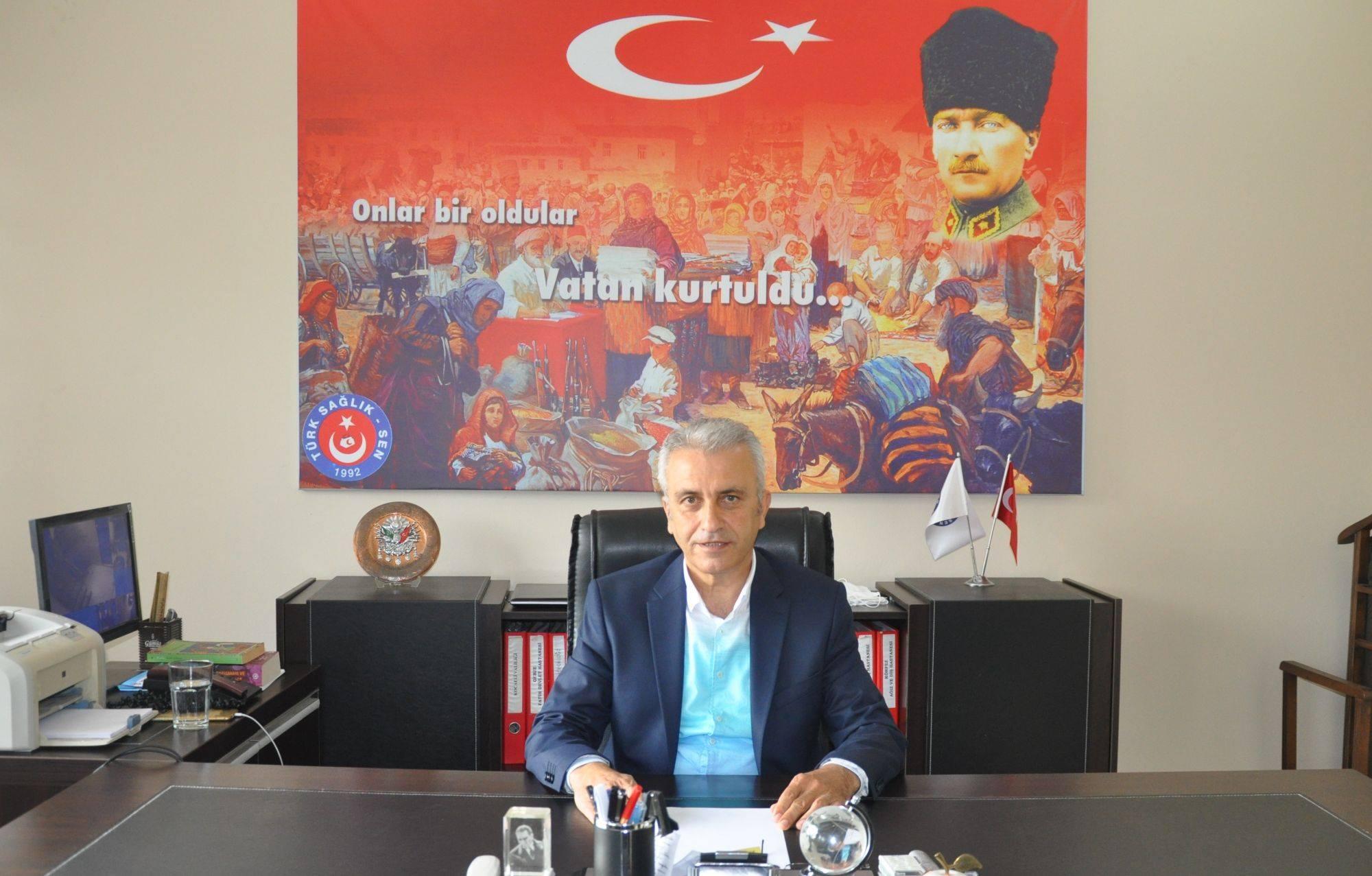 Photo of Çeker: 'Sağlık çalışanlarına şiddet uygulayan tutuklanmalı'