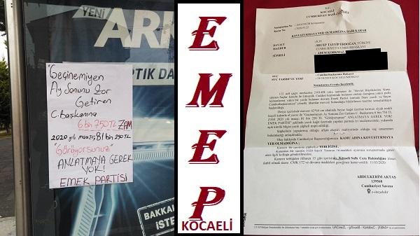 Erdoğan'ın maaş zammını duyuran EMEP yöneticisine kovuşturmaya gerek yok kararı