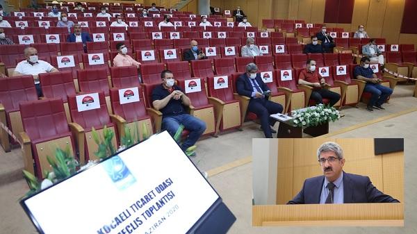 Photo of KOTO Haziran Ayı Meclis Toplantısını Oda binasında yaptı