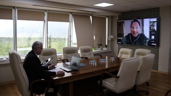 Kocaeli Büyükşehir'de çevrimiçi personel eğitimleri sürüyor