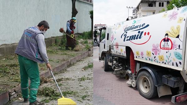 Sanayi Mahallesi'nde 3 farklı ekiple hummalı çalışma