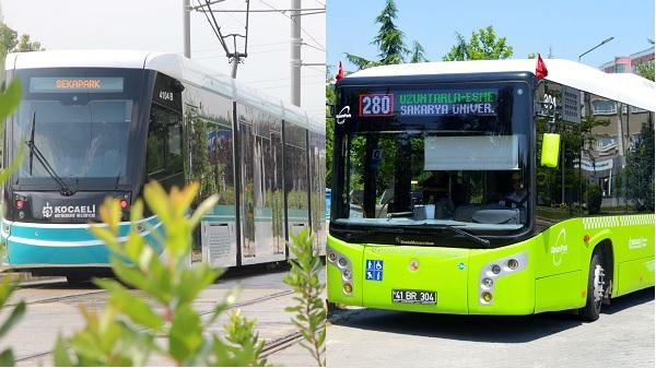 Tramvay ve otobüslerde UlaşımPark yeni düzeni başladı