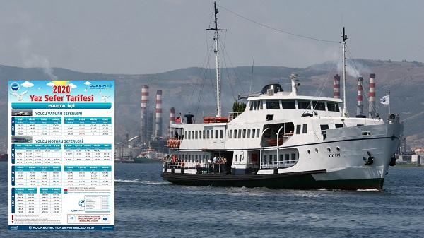Photo of UlaşımPark: 'Deniz ulaşım seferleri yaz tarifesiyle yeniden başlıyor'
