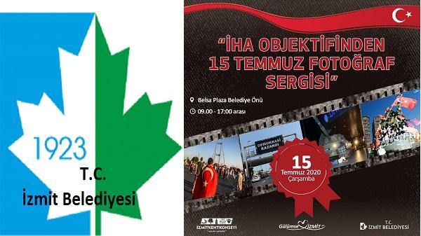 Photo of İzmit Belediyesinden 15 Temmuz'u fotoğraf sergisiyle anma etkinliği