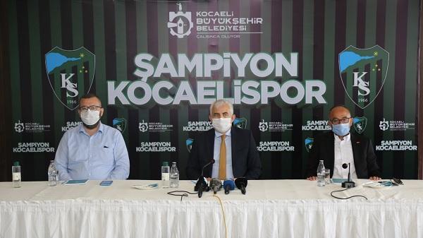 Photo of Şampiyon Kocaelispor'a bu şampiyonluk kutlaması yakışır