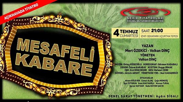 Photo of 'Mesafeli Kabare' 4 Temmuz'da seyirciyle buluşacak