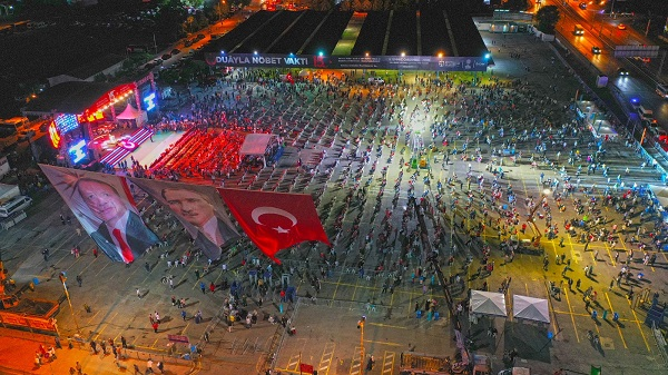 15 Temmuz şehitleri Milli İrade Meydanında saygıyla anıldı