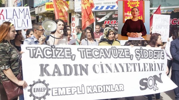 """Photo of EMEP: """"Kadın hakları ve cinayetlerinin sorumlusu AKP iktidarıdır"""""""