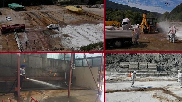 Photo of Gölcük Belediyesi Kurbanlık alanlarını dezenfekte etti