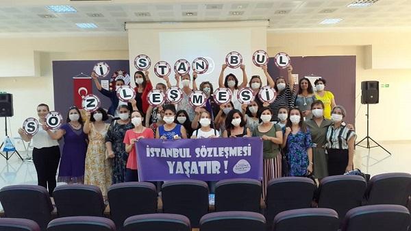 """Photo of Kocaeli İstanbul Sözleşmesi İnisiyatifi: """"Haklarımızdan vazgeçmeyeceğiz"""""""