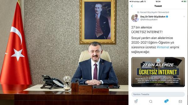 Photo of Büyükşehir Kocaeli'de öğrencilere ücretsiz internet sağlayacak