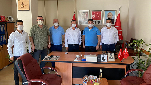 Photo of Çayırova Kulüpler Birliğinden CHP Çayırova İlçeye ziyaret