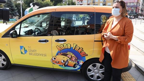 """Photo of İzmit Belediyesinin """"Anne Taksi"""" uygulaması İzmit'te başladı"""