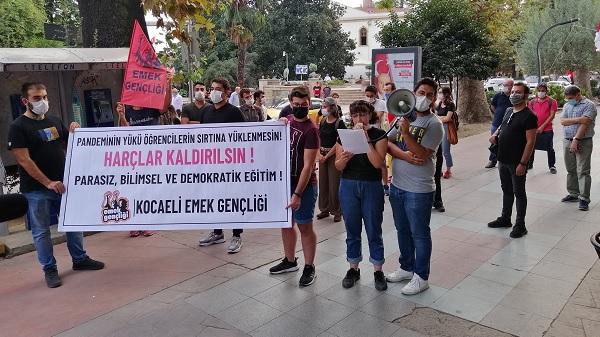 Photo of Kocaeli Emek Gençliği: 'Harçlar Kaldırılsın'