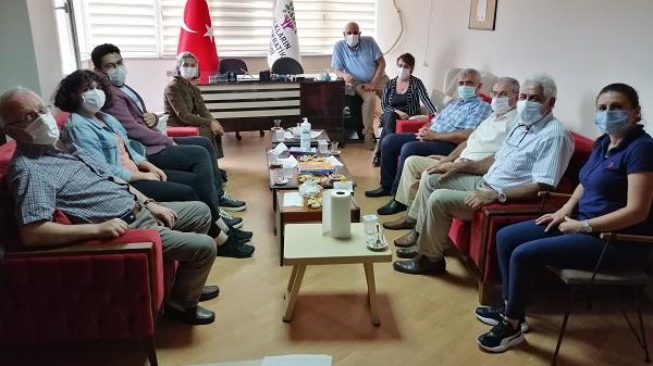Operasyon sonrası EMEP'ten HDP'ye dayanışma ziyareti