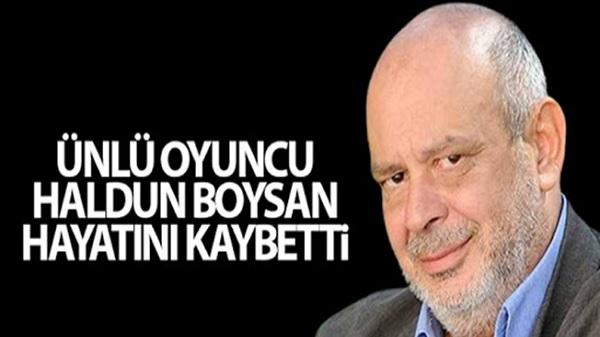 Photo of Usta sanatçı Haldun Boysan'ı kaybettik