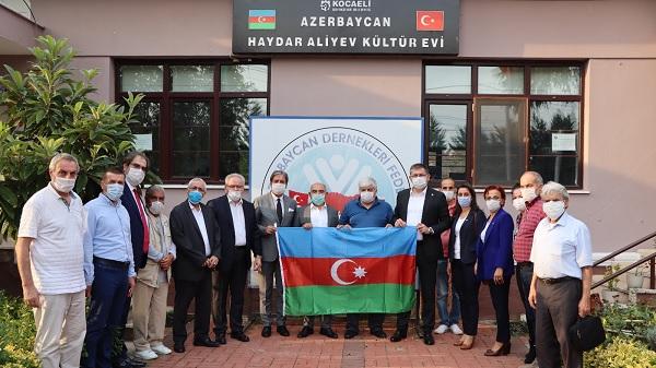 """Photo of Yıldızlı: """"Azerbaycanlı kardeşlerimiz yalnız değildir"""""""