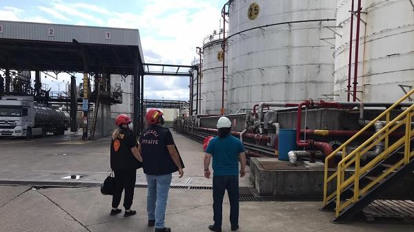 Photo of Büyükşehir'den Kimya ve Petrokimya tesislerinde yangın denetimi