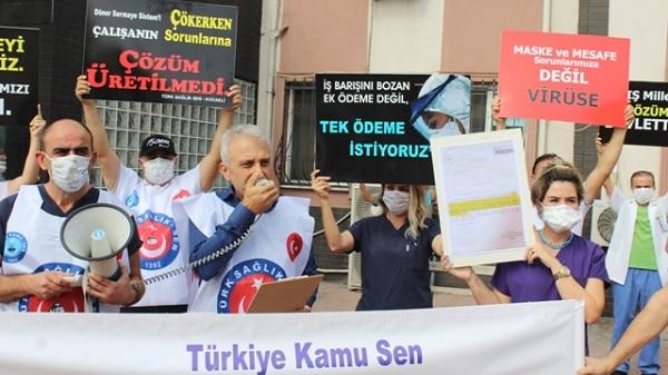 """Photo of Çeker: """"Ek ödeme değil tek ödeme istiyoruz"""""""