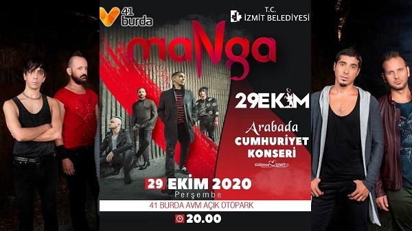 Photo of Cumhuriyet Bayramı'nda İzmit'te Manga konseri