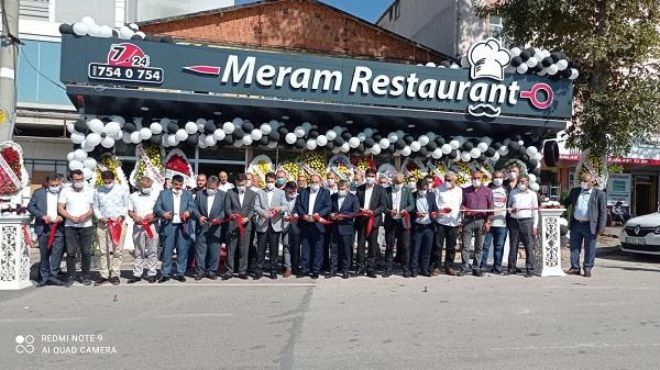 Dilovalılara hizmet verecek olan Meram Restaurant'a görkemli açılış