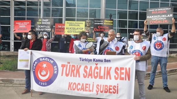 """Photo of Çeker: """"Ek ödemedeki haksızlık sonlandırılmalı"""""""