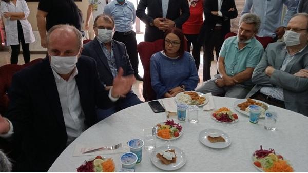 """Photo of İnce: """"İktidar da muhalefet de aynı kafada"""""""