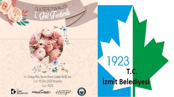 İzmit Gültepe'de İzmitlileri 1. Gül Festivali heyecanı sardı